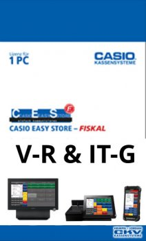 CASIO CESF-VR / CASIO Easy Store Fiskal Software ( GoBD Software)